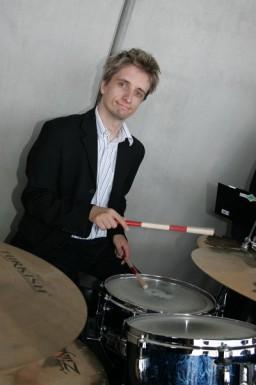 Schlagzeuger Christian Lanegger