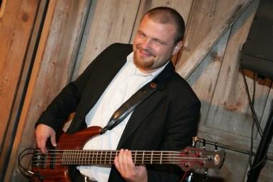 Unser Bassist David Habichler