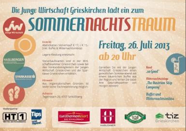 Sommernachtstraum Flyer
