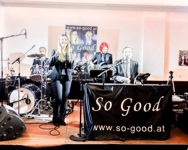 So Good: Band für Hochzeit, Firmenfeier, Ball usw.